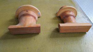 水道管の木型