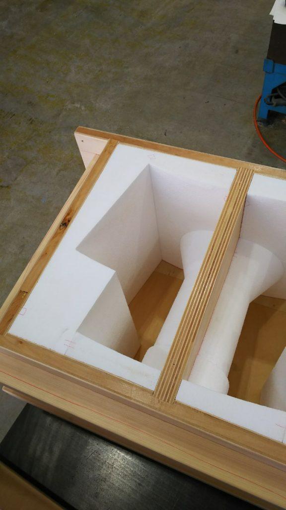 木型 発泡スチロール型完成-1