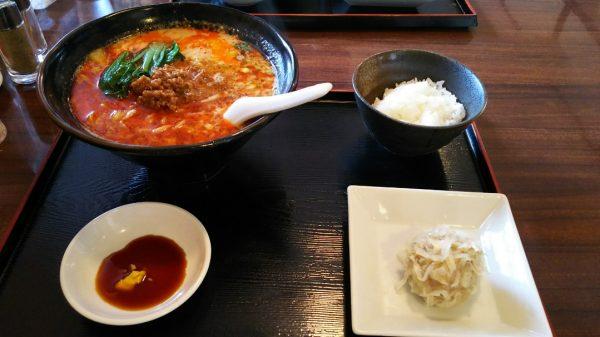 精龍苑 担担麺