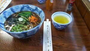 山菜そば-1