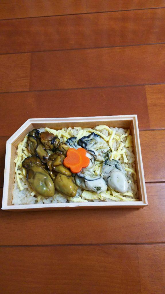 広島のかきまんさい弁当2