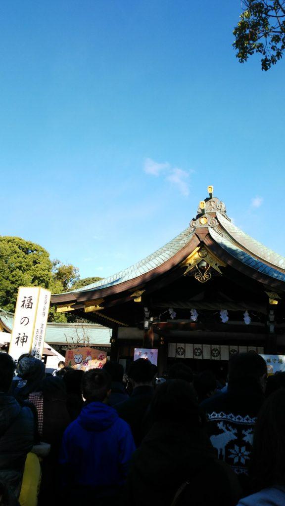 一宮 真清田神社へ初詣 2018