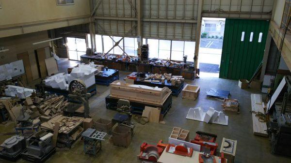 新作の木型製作と更新木型製作中1