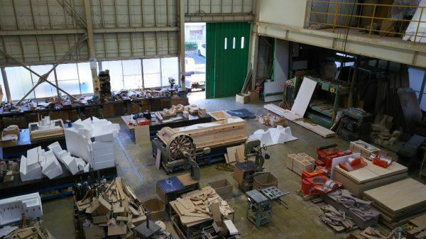 新作の木型製作と更新木型製作中2