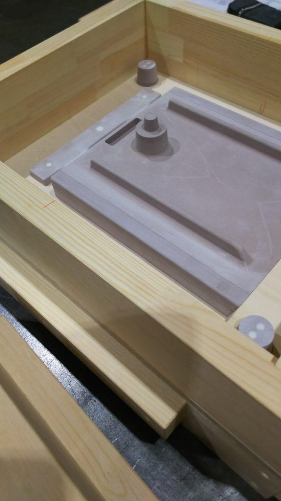 ケミカルウッド製木型2